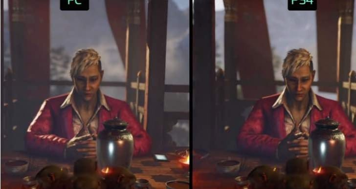 Far Cry 4 PS4 Vs PC graphics review