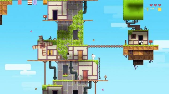 Fez PS4 review for PS Plus August update
