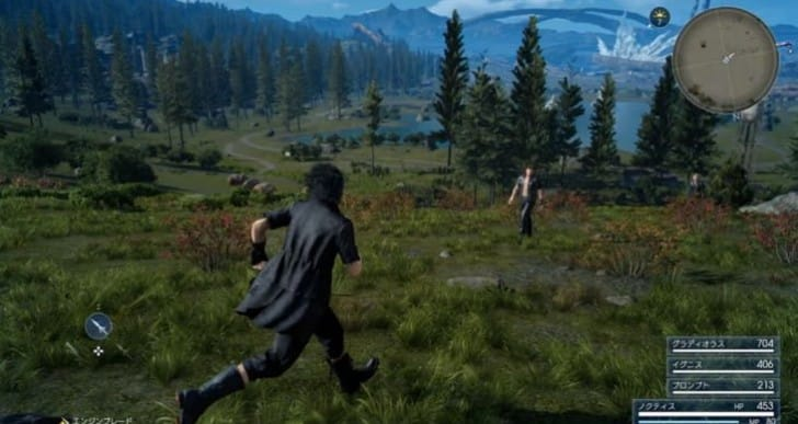 New Final Fantasy XV screenshots from latest build