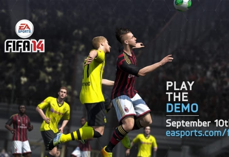 FIFA 14 demo release time for PS3, PC and Xbox 360