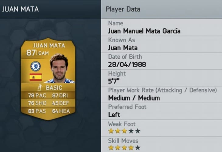 FIFA 14 Mata Man Utd excitement begins