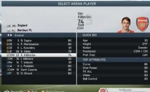 FIFA 14 Kallstrom exposed for Arsenal FC transfer