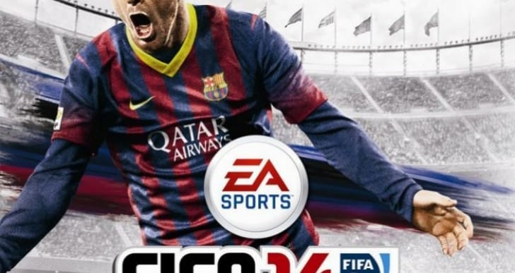 FIFA 14 Lionel Messi cover, UK stars still a mystery