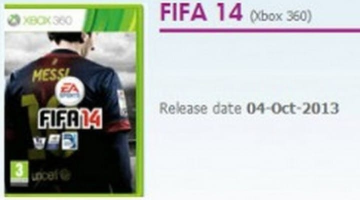 FIFA 14 release date for UK later than expected