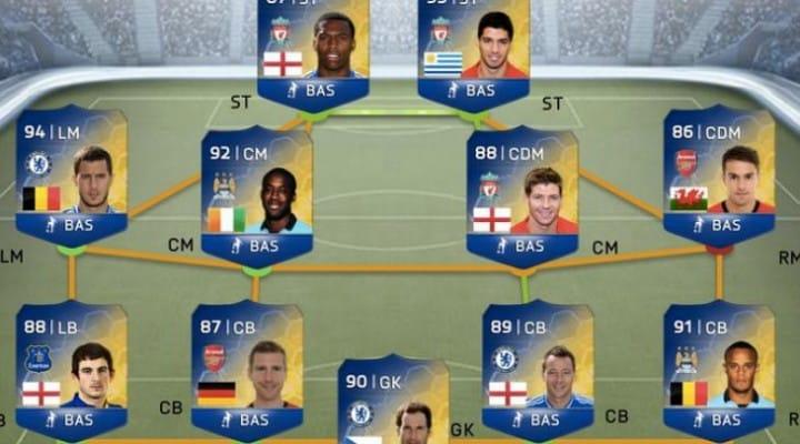 FIFA 14 Team of the Season Luis Suarez odds