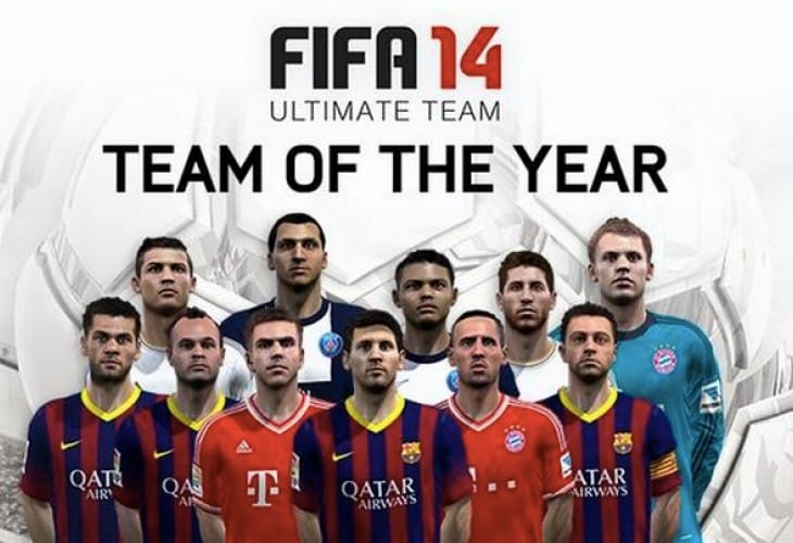 FIFA 14 TOTY fans imply Barcelona favoritism conspiracy