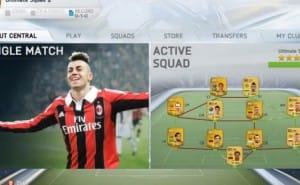 FIFA 14 Ultimate Team demo on PC max settings