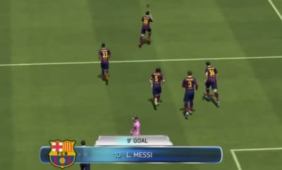On FIFA 14, Messi will have his trademark celebration.