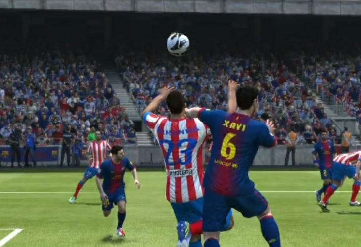 FIFA 14 realtime on Xbox One hardware
