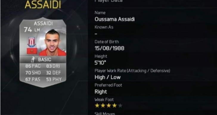FIFA 15 5-star skillers with Pele Vs Assaidi