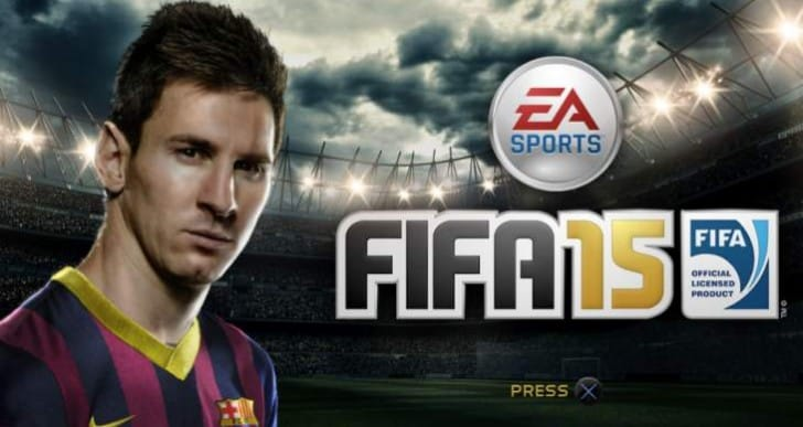 FIFA 15 sales domination before PES 2015