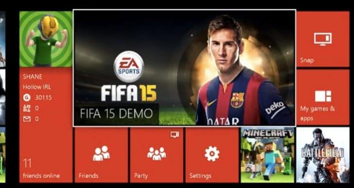 LFC vs. Man City in FIFA 15 demo BPL gameplay