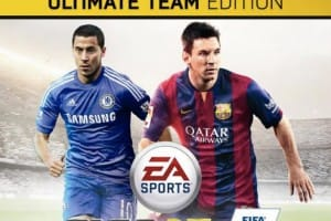 Chelsea's Eden Hazard loves FIFA 15 UK Cover
