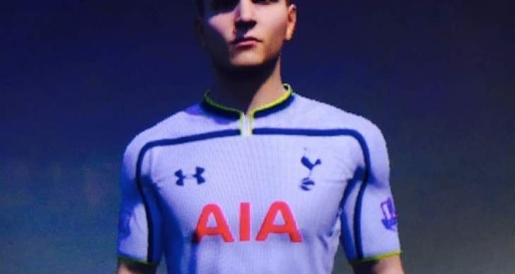 Lamela Rabona goal with FIFA 15 5-star skills update
