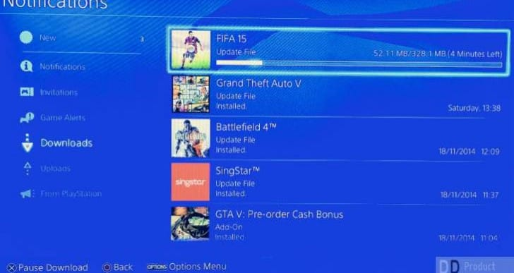 FIFA 15 1.04 PS4 update with patch notes