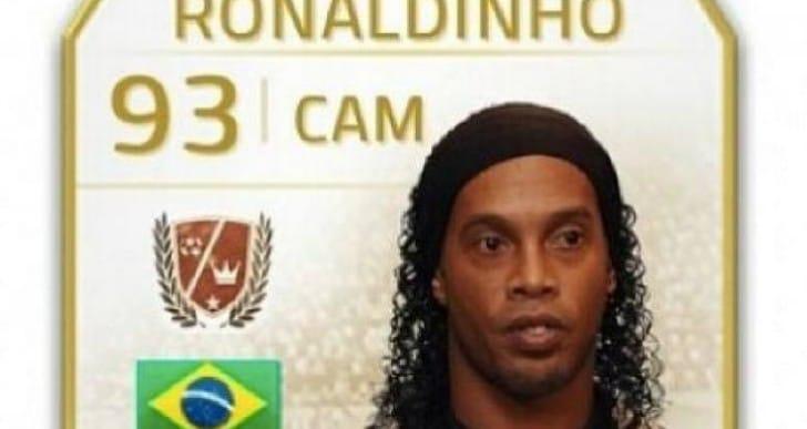 FIFA 15 Neymar in, Ronaldinho out