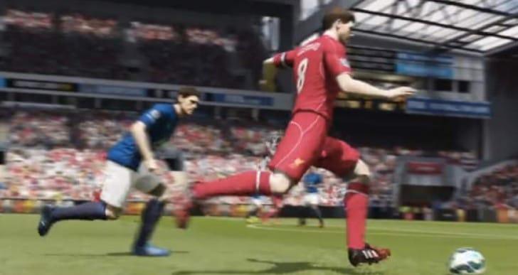 Steven Gerrard screamer for LFC, only on FIFA 15