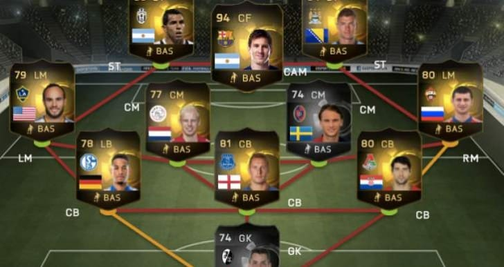 FIFA 15 TOTW 3 line-up with surprise