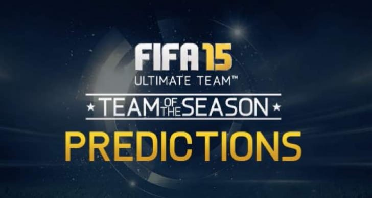 New FIFA 15 TOTS and 'beast' TOTW on May 27