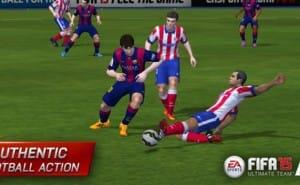 FIFA 15 UT iPad, iOS game live in Canada