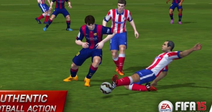 FIFA 15 UT iPad, iOS game live in Canada