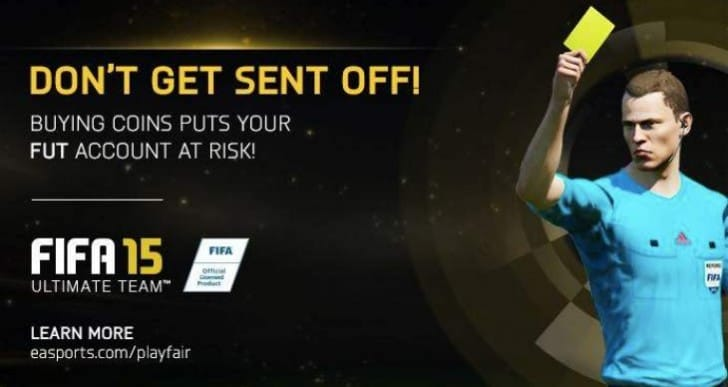 FIFA 15 Ultimate Team bans for UK haters