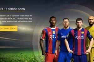 FIFA 15 Web app delay starts viral trend