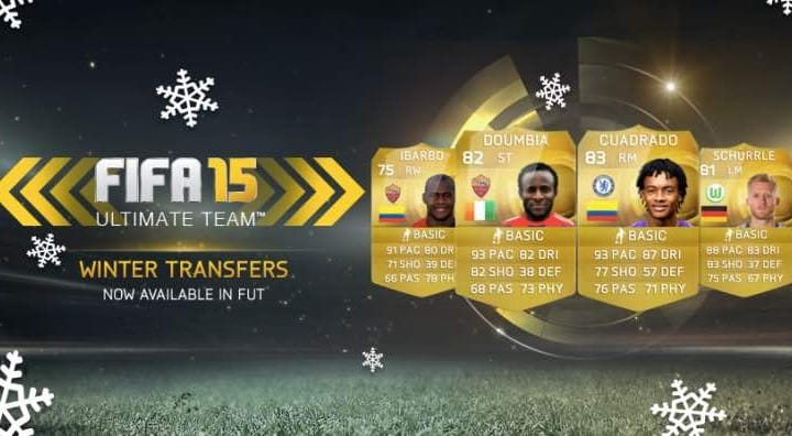 FIFA 15 FUT transfers live for Schurrle and Cuadrado