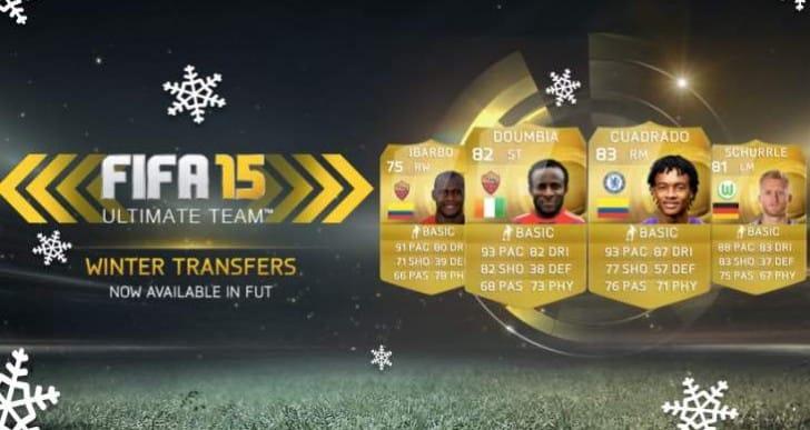 FIFA 15 FUT transfers live for Schurrle and Cuadrado