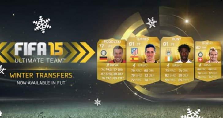 Surprise FIFA 15 Winter transfers FUT update live