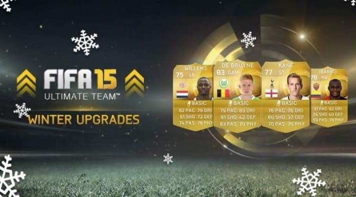 Download FIFA 15 Winter upgrades list in full