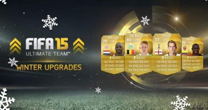 Download FIFA 15 Winter upgrades list in full