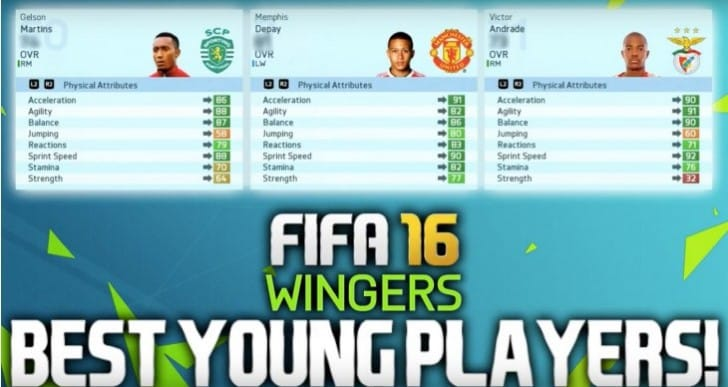 FIFA 16 Best Young Players for Career Mode Potential