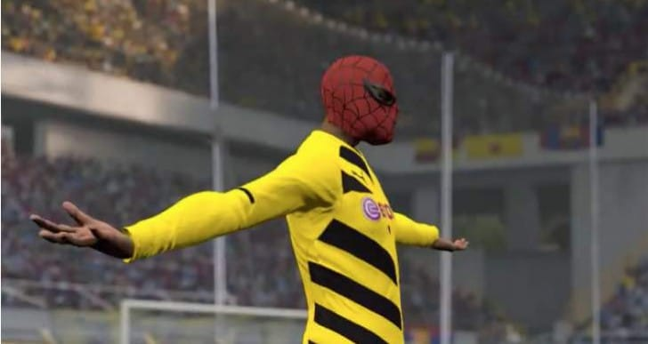 FIFA 16 Celebrations for Aubameyang Batman