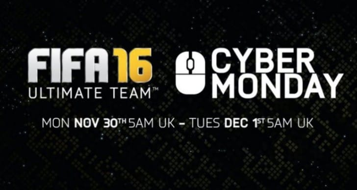 FIFA 16 Cyber Monday UK time schedule and surprise