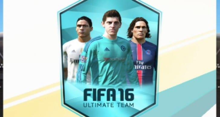 FIFA 16 free pack with Ultimate Loan Player
