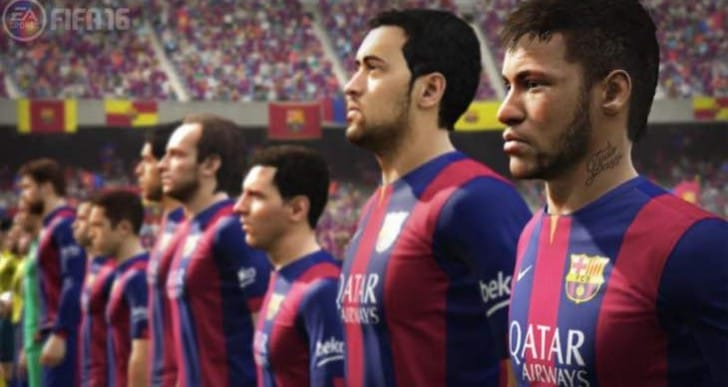 New FIFA 16 gameplay trailer today