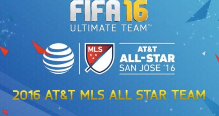 FIFA 16 MLS All-Star player list in packs