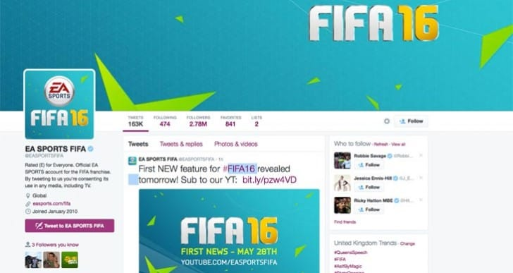 FIFA 16 news with video on May 28
