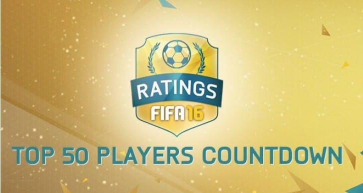 FIFA 16 10-1 Top 10 ratings for Ronaldo, Messi