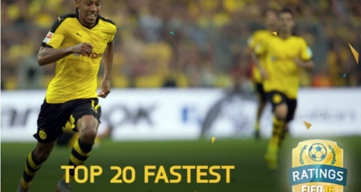 Arsenal's Theo Walcott fastest player in FIFA 16