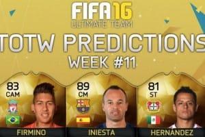 FIFA 16 TOTW 11 UK release time for packs
