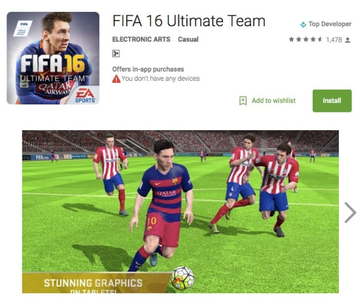 fifa-16-ultimate-team-not-compatible-android