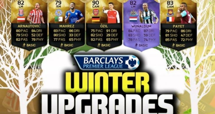 FIFA 16 Winter upgrades date for when it will release