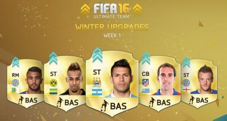 FIFA 16 Winter Upgrades Week 2 release time for UK