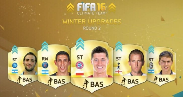 FIFA 16 Winter Upgrades Week 2 list now live