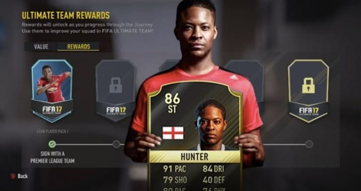 Get LFC Alex Hunter card in FIFA 17 FUT