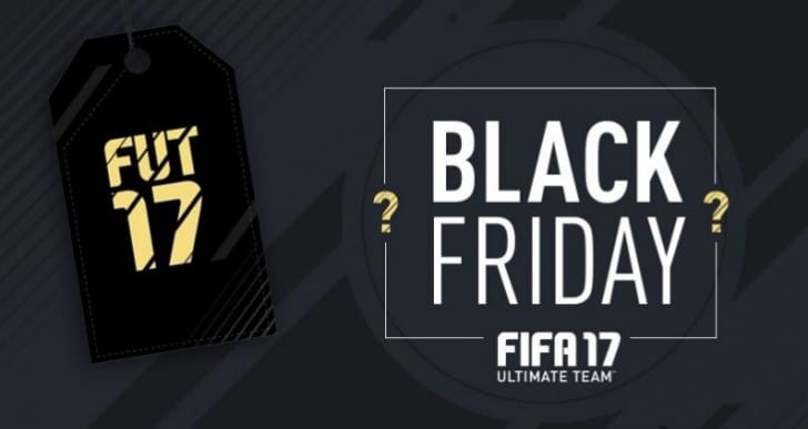 FIFA 17 free packs today for Black Friday
