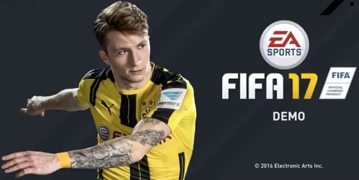 Get FIFA 17 demo before PS Store update