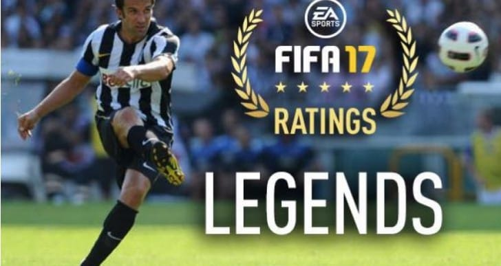 New FIFA 17 Legends ratings not on PS4